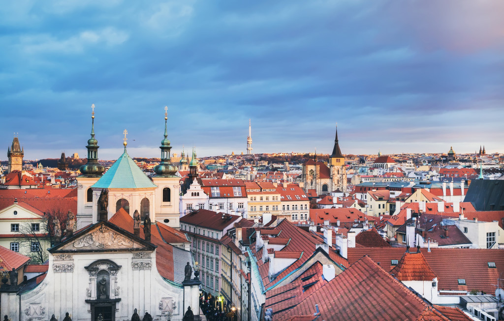 prague luxury hotel boho location