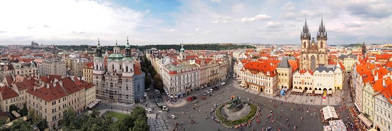 Pařížská Street in Prague