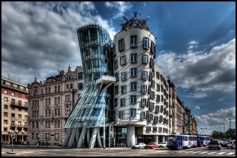 View Of The Imposing And Original Dancing House