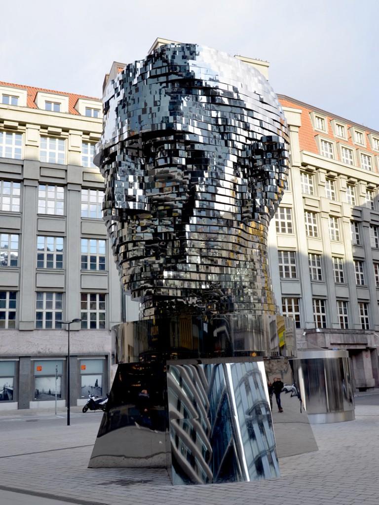 Kafka is an icon of Prague