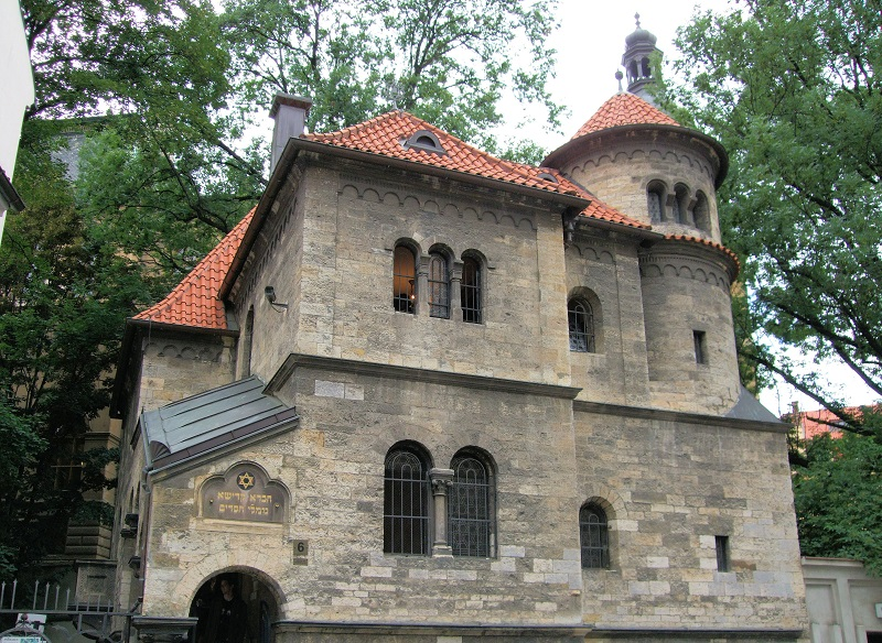 The Jewish culture are linked with the history of Prague