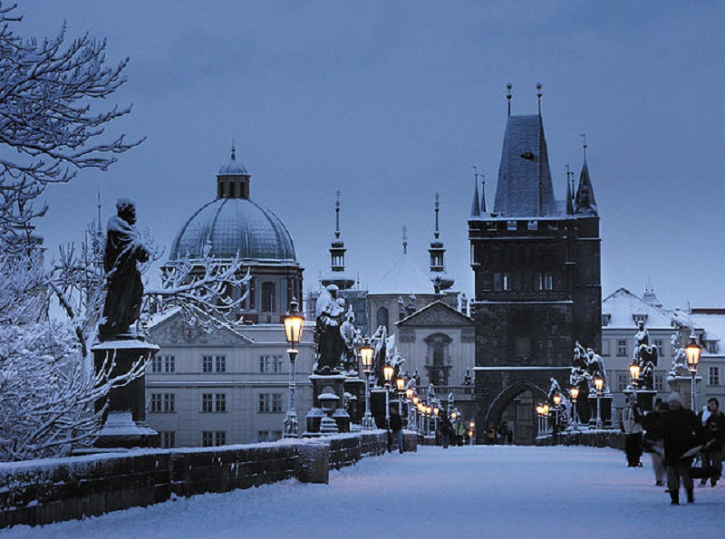 Winter in the Czech Republic