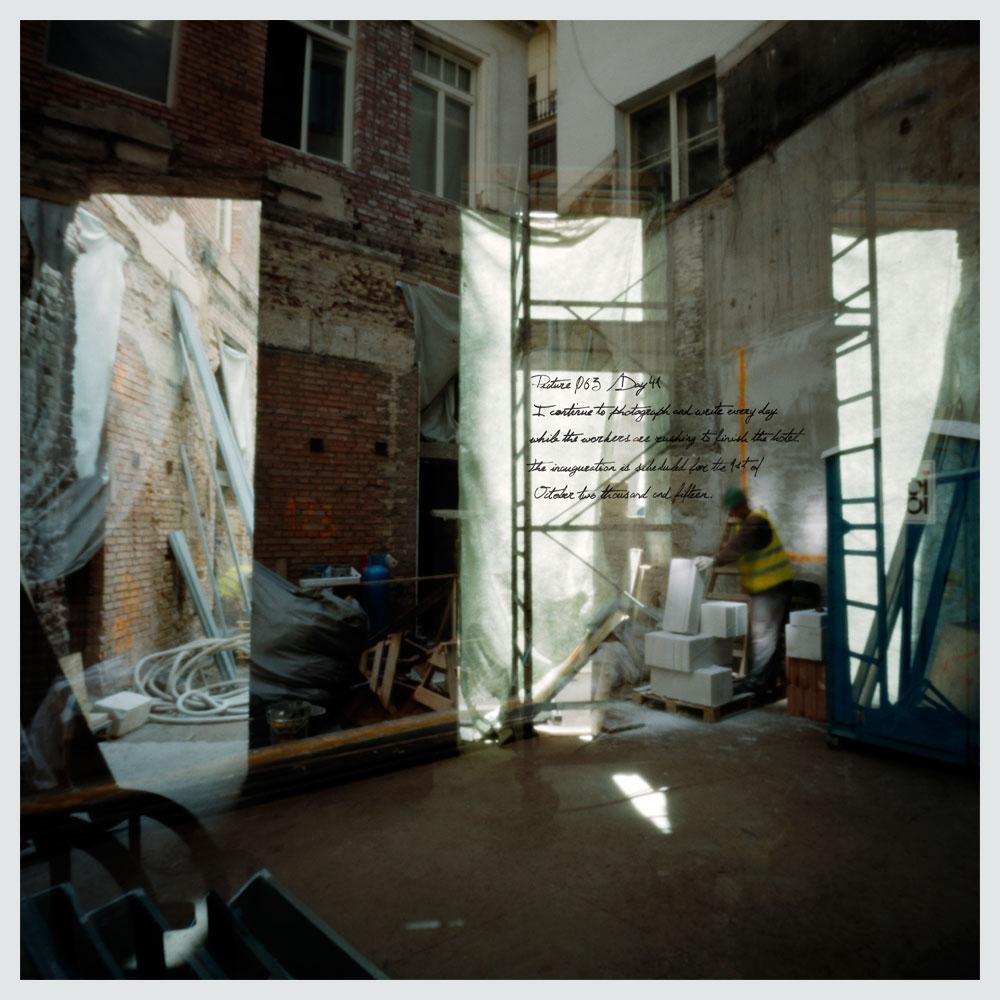 day 41 boho hotel under construction hotel boho prague blog. Black Bedroom Furniture Sets. Home Design Ideas