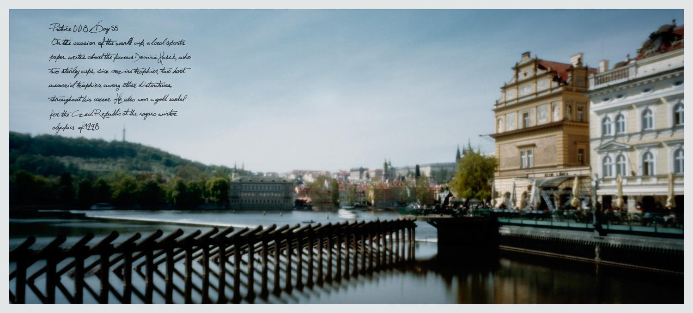 Right bank of the Vltava