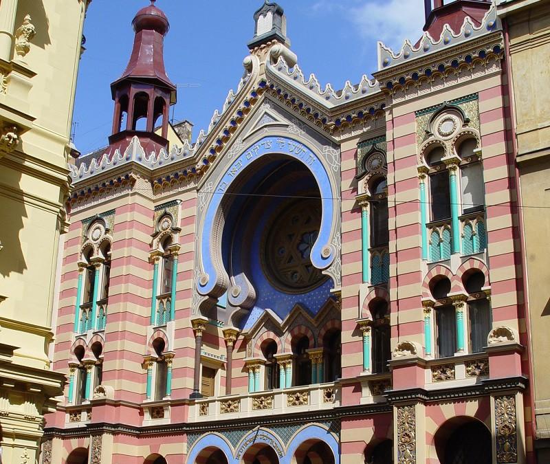 The Jewish Quarter of Prague, the living history