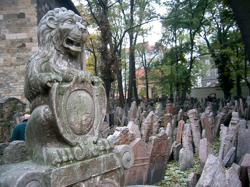 The Jewish Cemetery is one of the most visited places of Prague
